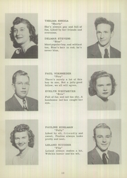 Page 16, 1949 Edition, Dillsboro High School - Blue and Gold Yearbook (Dillsboro, IN) online yearbook collection