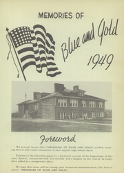 Page 7, 1949 Edition, Dillsboro High School - Blue and Gold Yearbook (Dillsboro, IN) online yearbook collection
