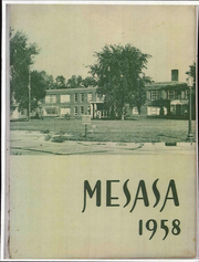 1958 Edition, Ottawa Hills High School - Mesasa Yearbook (Ottawa Hills, OH)