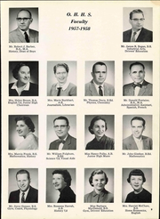 Page 15, 1958 Edition, Ottawa Hills High School - Mesasa Yearbook (Ottawa Hills, OH) online yearbook collection