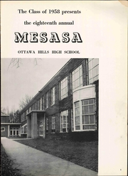 Page 7, 1958 Edition, Ottawa Hills High School - Mesasa Yearbook (Ottawa Hills, OH) online yearbook collection