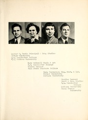 Page 13, 1950 Edition, Middlebury High School - Middiette Yearbook (Middlebury, IN) online yearbook collection