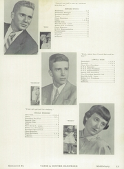 Page 17, 1953 Edition, Middlebury High School - Middiette Yearbook (Middlebury, IN) online yearbook collection