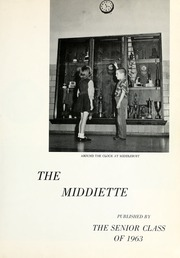 Page 5, 1963 Edition, Middlebury High School - Middiette Yearbook (Middlebury, IN) online yearbook collection