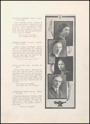 Page 13, 1922 Edition, Middletown High School - Mihiscan Yearbook (Middletown, IN) online yearbook collection