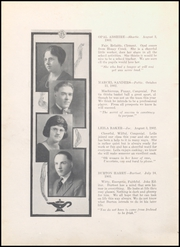Page 16, 1922 Edition, Middletown High School - Mihiscan Yearbook (Middletown, IN) online yearbook collection