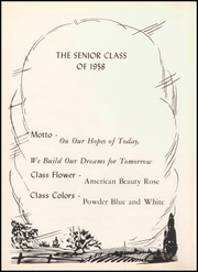Page 8, 1958 Edition, Middletown High School - Mihiscan Yearbook (Middletown, IN) online yearbook collection