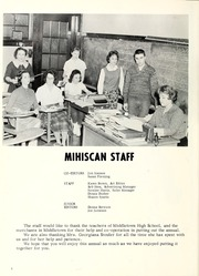 Page 8, 1961 Edition, Middletown High School - Mihiscan Yearbook (Middletown, IN) online yearbook collection