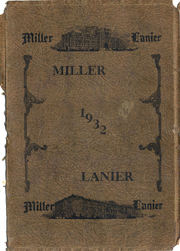 Page 1, 1932 Edition, Central High School - Miller Lanier Yearbook (Macon, GA) online yearbook collection