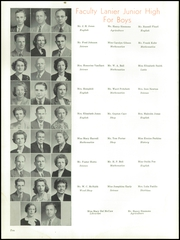 Page 14, 1948 Edition, Central High School - Miller Lanier Yearbook (Macon, GA) online yearbook collection