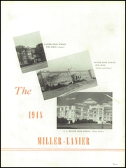 Page 7, 1948 Edition, Central High School - Miller Lanier Yearbook (Macon, GA) online yearbook collection