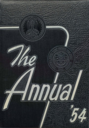 1954 Edition, Central High School - Miller Lanier Yearbook (Macon, GA)