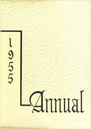 1955 Edition, Central High School - Miller Lanier Yearbook (Macon, GA)