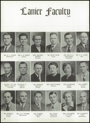 Page 16, 1955 Edition, Central High School - Miller Lanier Yearbook (Macon, GA) online yearbook collection