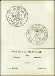 Page 5, 1958 Edition, Central High School - Miller Lanier Yearbook (Macon, GA) online yearbook collection