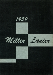 1959 Edition, Central High School - Miller Lanier Yearbook (Macon, GA)