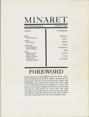 Page 5, 1964 Edition, East High School - Minaret Yearbook (Akron, OH) online yearbook collection