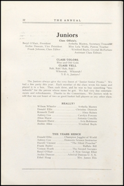 Page 38, 1921 Edition, Greencastle High School - Minaret Yearbook (Greencastle, IN) online yearbook collection