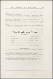 Page 51, 1921 Edition, Greencastle High School - Minaret Yearbook (Greencastle, IN) online yearbook collection