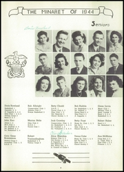 Page 11, 1944 Edition, Greencastle High School - Minaret Yearbook (Greencastle, IN) online yearbook collection