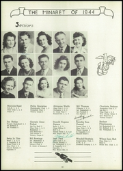 Page 12, 1944 Edition, Greencastle High School - Minaret Yearbook (Greencastle, IN) online yearbook collection