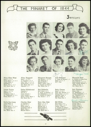 Page 13, 1944 Edition, Greencastle High School - Minaret Yearbook (Greencastle, IN) online yearbook collection