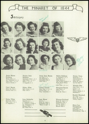 Page 14, 1944 Edition, Greencastle High School - Minaret Yearbook (Greencastle, IN) online yearbook collection