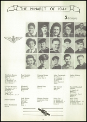 Page 15, 1944 Edition, Greencastle High School - Minaret Yearbook (Greencastle, IN) online yearbook collection