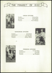 Page 17, 1944 Edition, Greencastle High School - Minaret Yearbook (Greencastle, IN) online yearbook collection