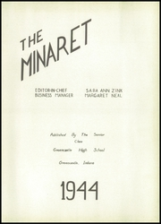 Page 3, 1944 Edition, Greencastle High School - Minaret Yearbook (Greencastle, IN) online yearbook collection