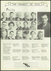Page 6, 1944 Edition, Greencastle High School - Minaret Yearbook (Greencastle, IN) online yearbook collection