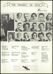 Page 7, 1944 Edition, Greencastle High School - Minaret Yearbook (Greencastle, IN) online yearbook collection