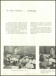 Page 10, 1957 Edition, Greencastle High School - Minaret Yearbook (Greencastle, IN) online yearbook collection