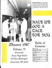 Page 7, 1987 Edition, Greencastle High School - Minaret Yearbook (Greencastle, IN) online yearbook collection