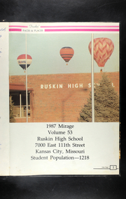 Page 5, 1987 Edition, Ruskin High School - Mirage Yearbook (Kansas City, MO) online yearbook collection