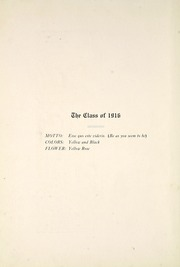 Page 14, 1916 Edition, Huntington North High School - Modulus Yearbook (Huntington, IN) online yearbook collection
