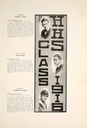 Page 15, 1916 Edition, Huntington North High School - Modulus Yearbook (Huntington, IN) online yearbook collection