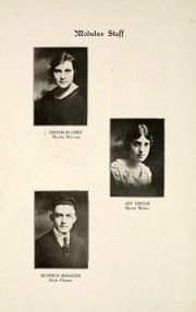 Page 12, 1920 Edition, Huntington North High School - Modulus Yearbook (Huntington, IN) online yearbook collection