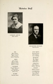 Page 13, 1920 Edition, Huntington North High School - Modulus Yearbook (Huntington, IN) online yearbook collection