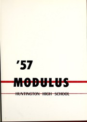Page 5, 1957 Edition, Huntington North High School - Modulus Yearbook (Huntington, IN) online yearbook collection