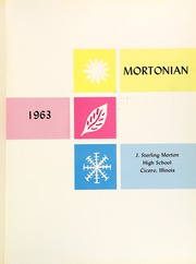 Page 5, 1963 Edition, J Sterling Morton East High School - Mortonian Yearbook (Cicero, IL) online yearbook collection
