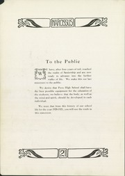 Page 10, 1921 Edition, Peru High School - Narcissus Yearbook (Peru, IN) online yearbook collection