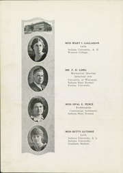 Page 16, 1921 Edition, Peru High School - Narcissus Yearbook (Peru, IN) online yearbook collection