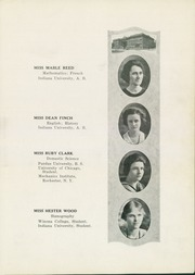 Page 17, 1921 Edition, Peru High School - Narcissus Yearbook (Peru, IN) online yearbook collection