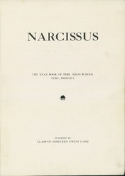 Page 5, 1921 Edition, Peru High School - Narcissus Yearbook (Peru, IN) online yearbook collection
