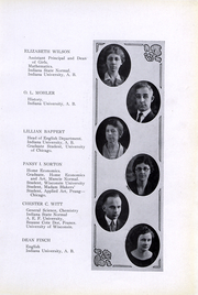 Page 12, 1923 Edition, Peru High School - Narcissus Yearbook (Peru, IN) online yearbook collection