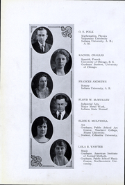 Page 13, 1923 Edition, Peru High School - Narcissus Yearbook (Peru, IN) online yearbook collection