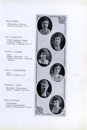 Page 14, 1923 Edition, Peru High School - Narcissus Yearbook (Peru, IN) online yearbook collection