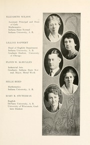 Page 17, 1924 Edition, Peru High School - Narcissus Yearbook (Peru, IN) online yearbook collection