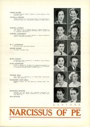Page 16, 1935 Edition, Peru High School - Narcissus Yearbook (Peru, IN) online yearbook collection